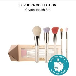 💎 Sephora Collection Crystal Brush Set 💎